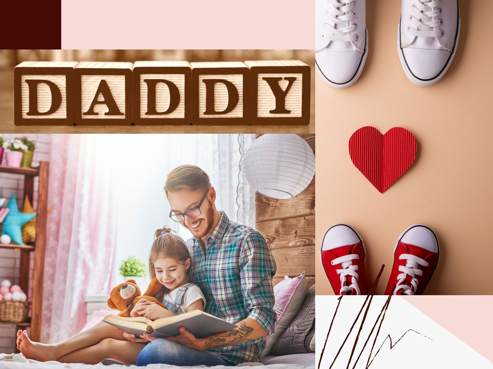 Daddy, I love you and I always will