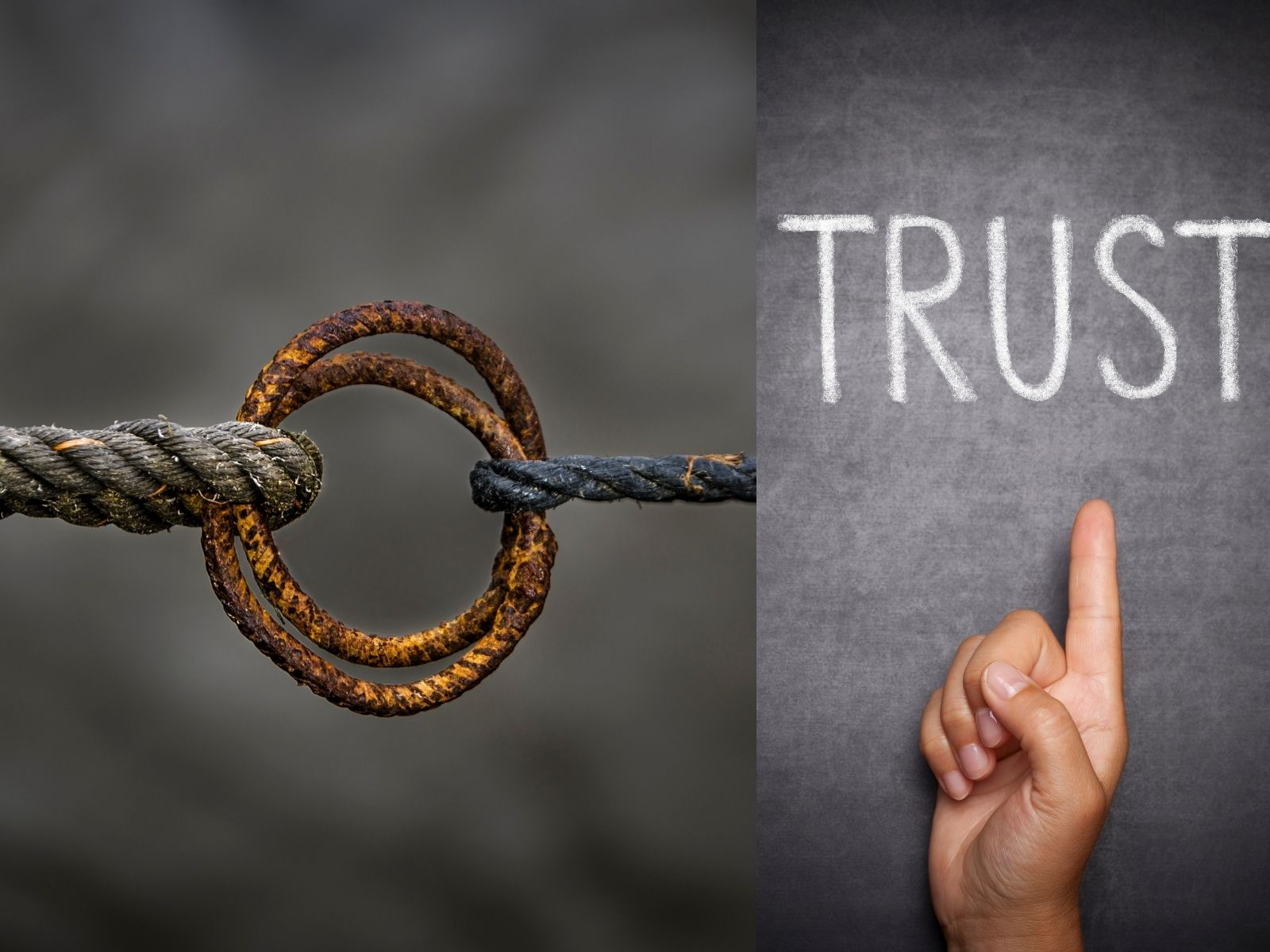 Trust is a solid word